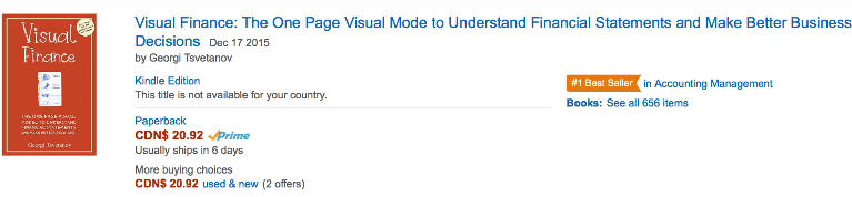 Visual Finance - best seller #1