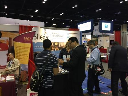 ATD 2015 - Silega's booth crowd